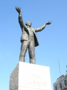 James Larkin's statue in Dublin